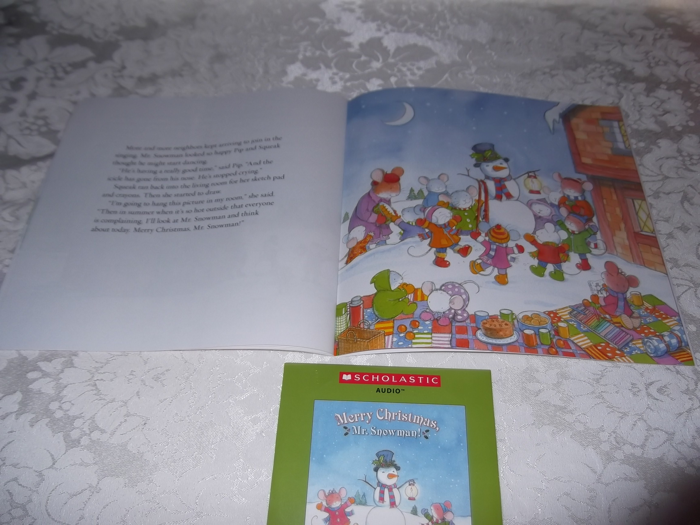 Image 6 of Merry Christmas, Mr. Snowman! Wolfram Hanel Audio CD and SC Brand New