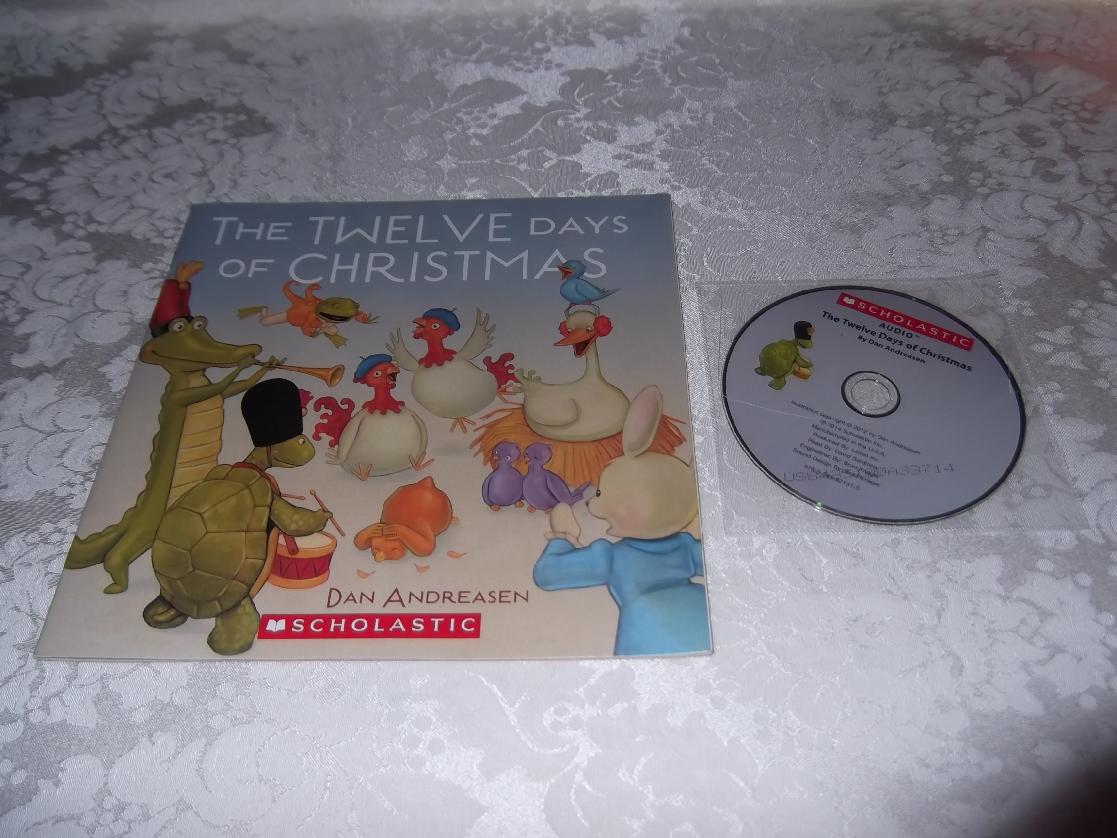 The Twelve Days of Christmas Dan Andreasen Audio CD and SC Brand New