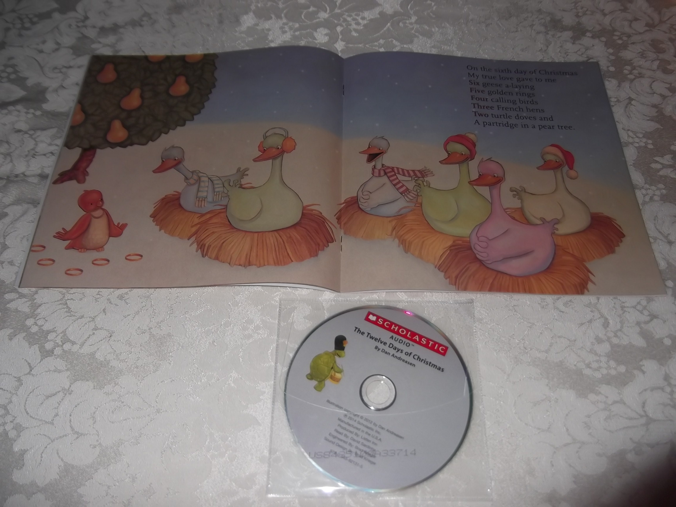 Image 7 of The Twelve Days of Christmas Dan Andreasen Audio CD and SC Brand New