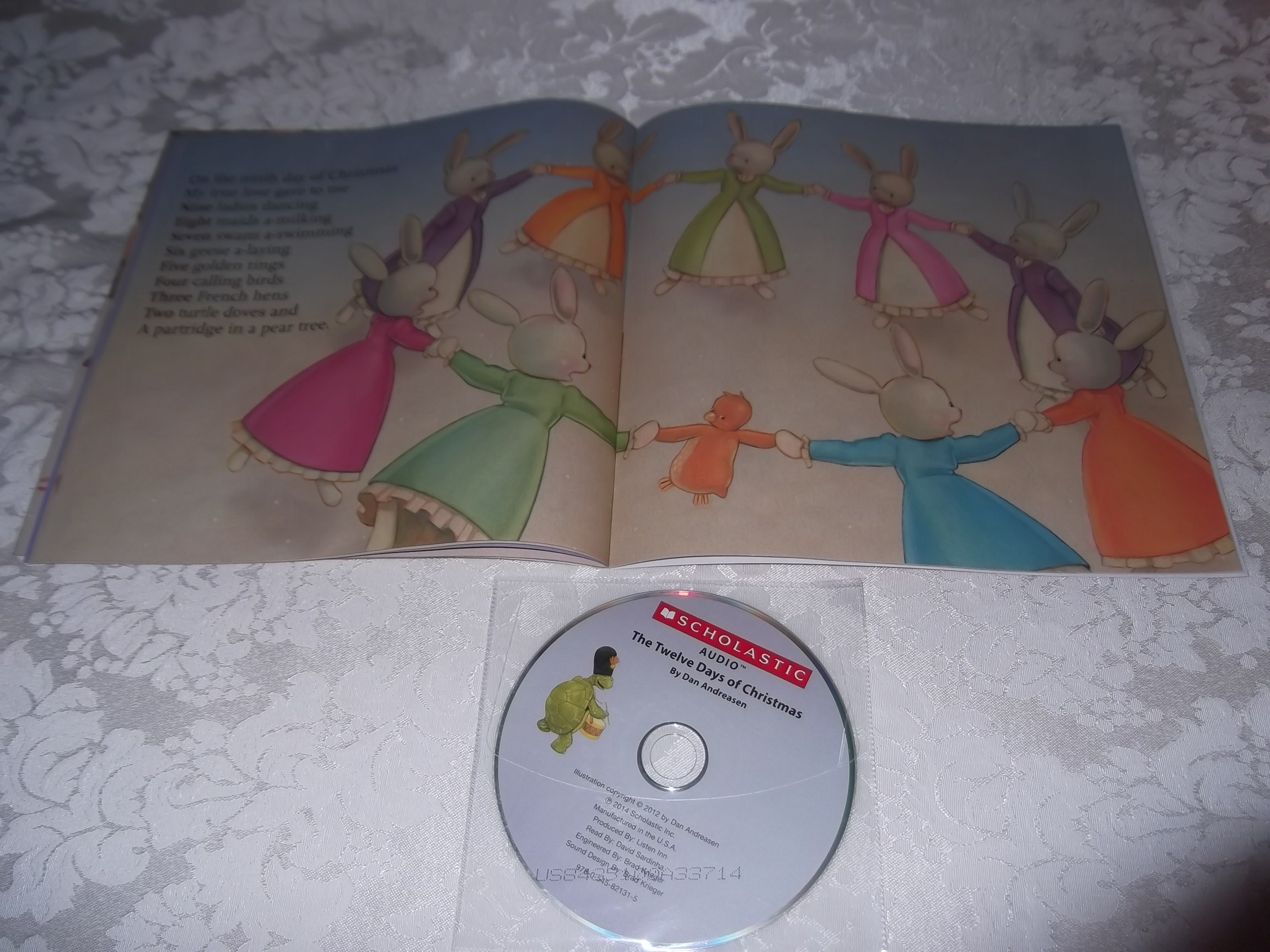 Image 4 of The Twelve Days of Christmas Dan Andreasen Audio CD and SC Brand New