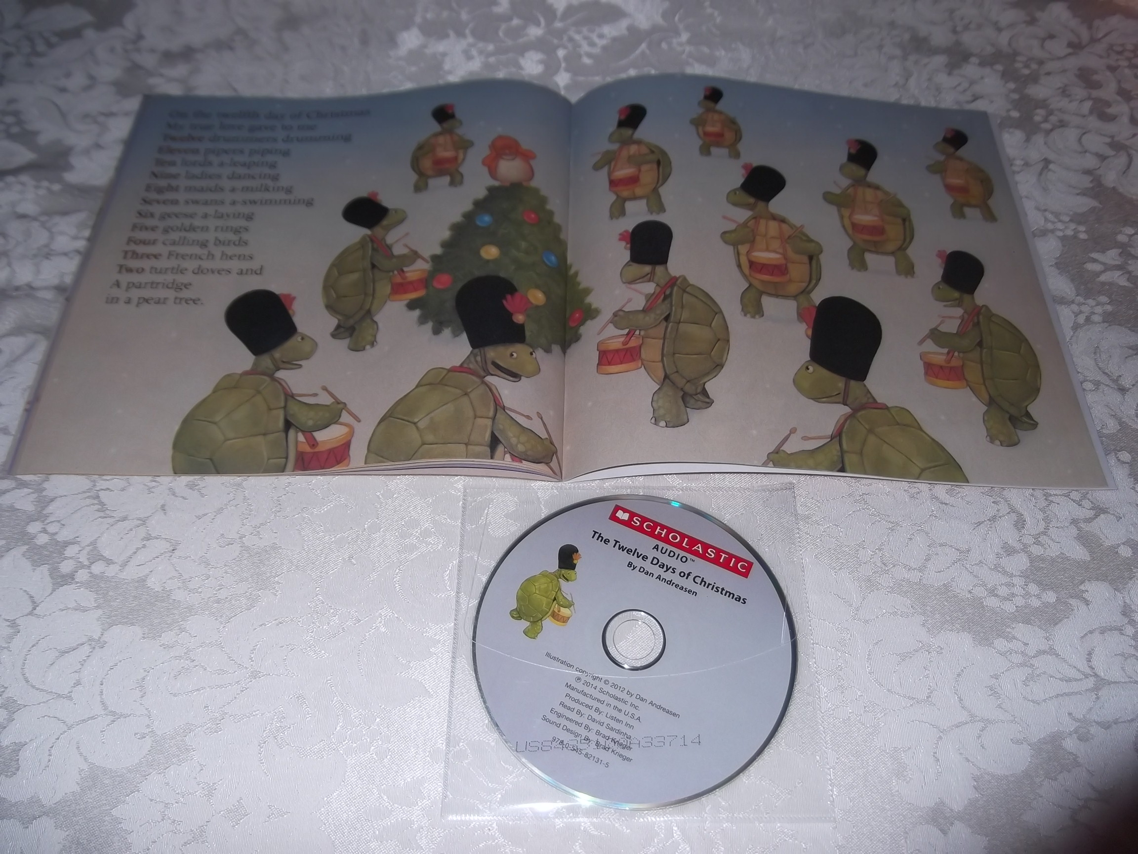 Image 1 of The Twelve Days of Christmas Dan Andreasen Audio CD and SC Brand New