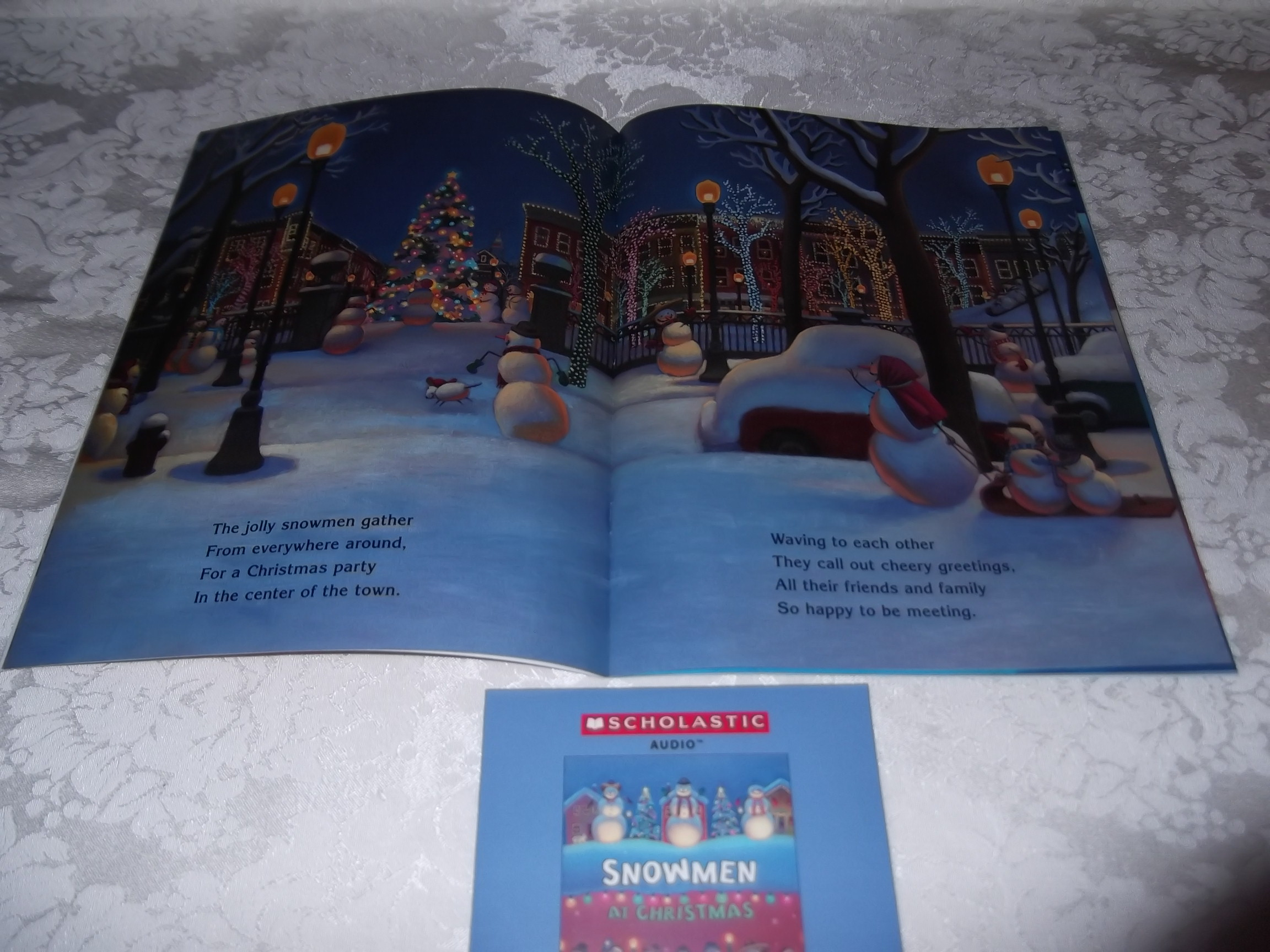 Image 1 of Snowmen At Christmas Caralyn Buehner Audio CD and SC Brand New