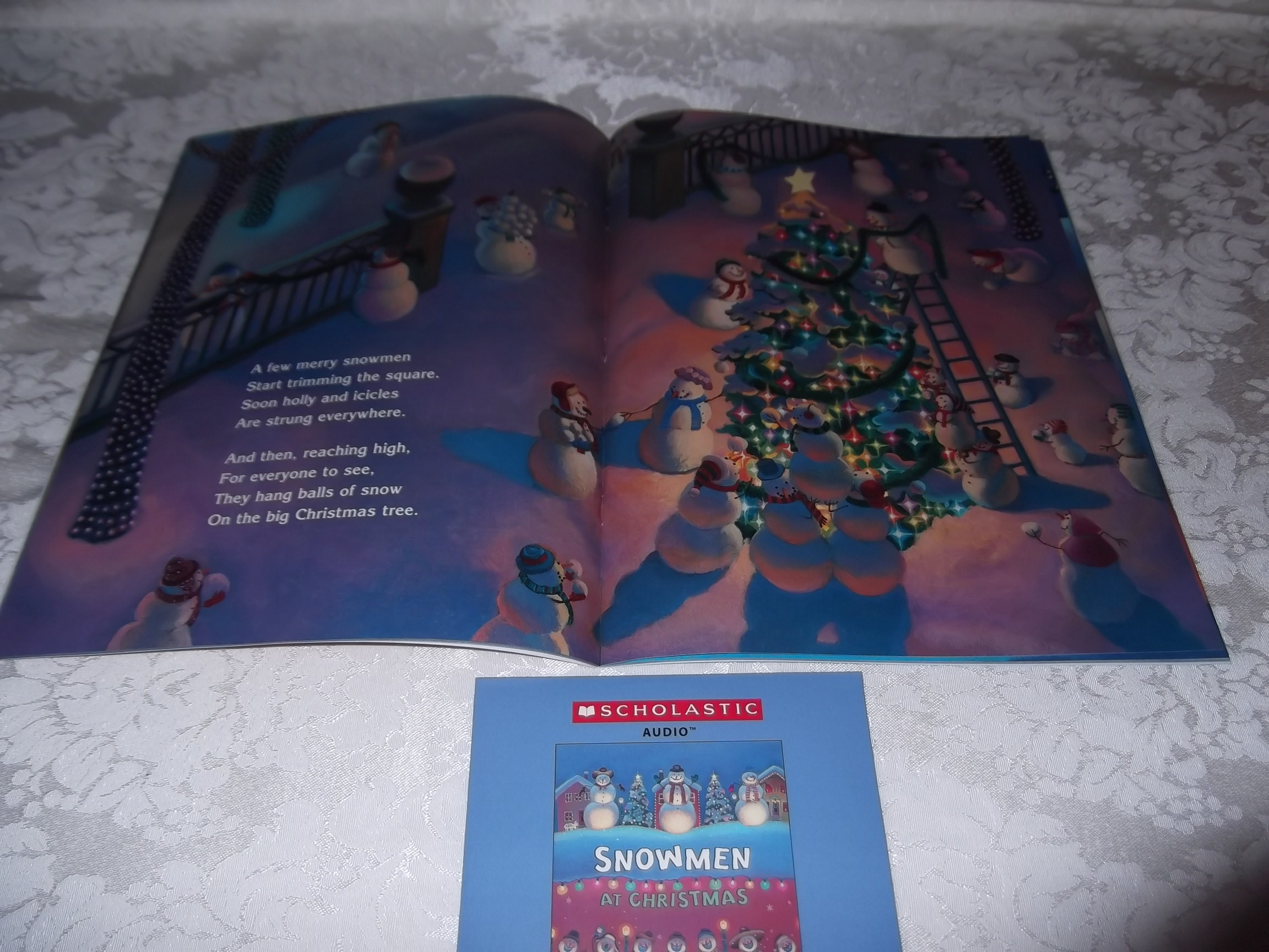 Image 2 of Snowmen At Christmas Caralyn Buehner Audio CD and SC Brand New