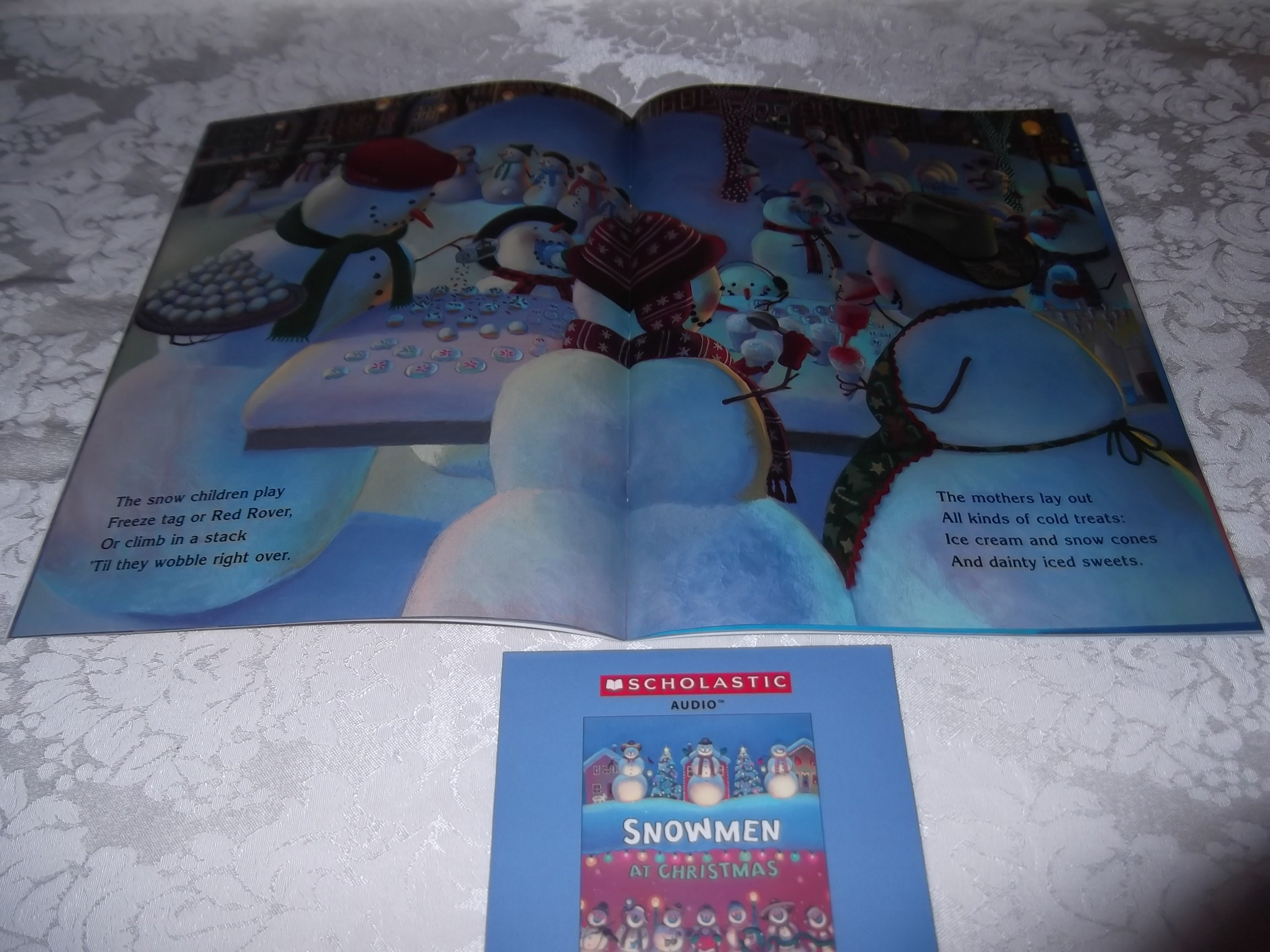 Image 3 of Snowmen At Christmas Caralyn Buehner Audio CD and SC Brand New