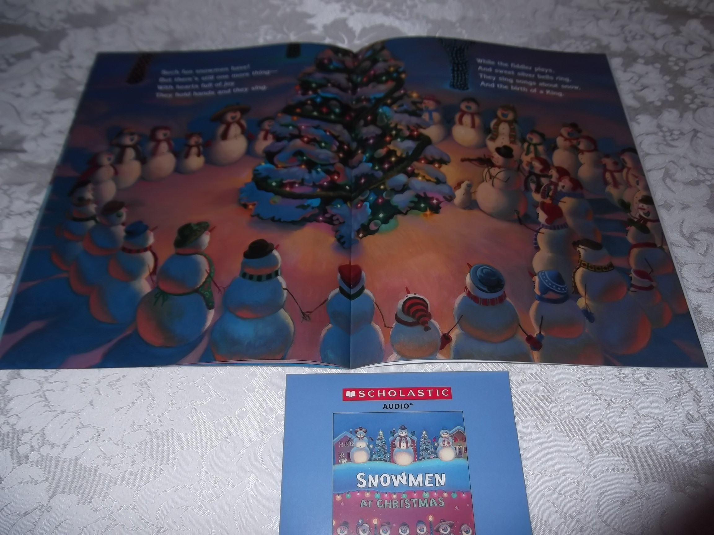 Image 4 of Snowmen At Christmas Caralyn Buehner Audio CD and SC Brand New