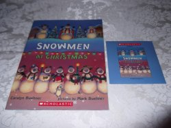 Snowmen At Christmas Caralyn Buehner Audio CD and SC Brand New