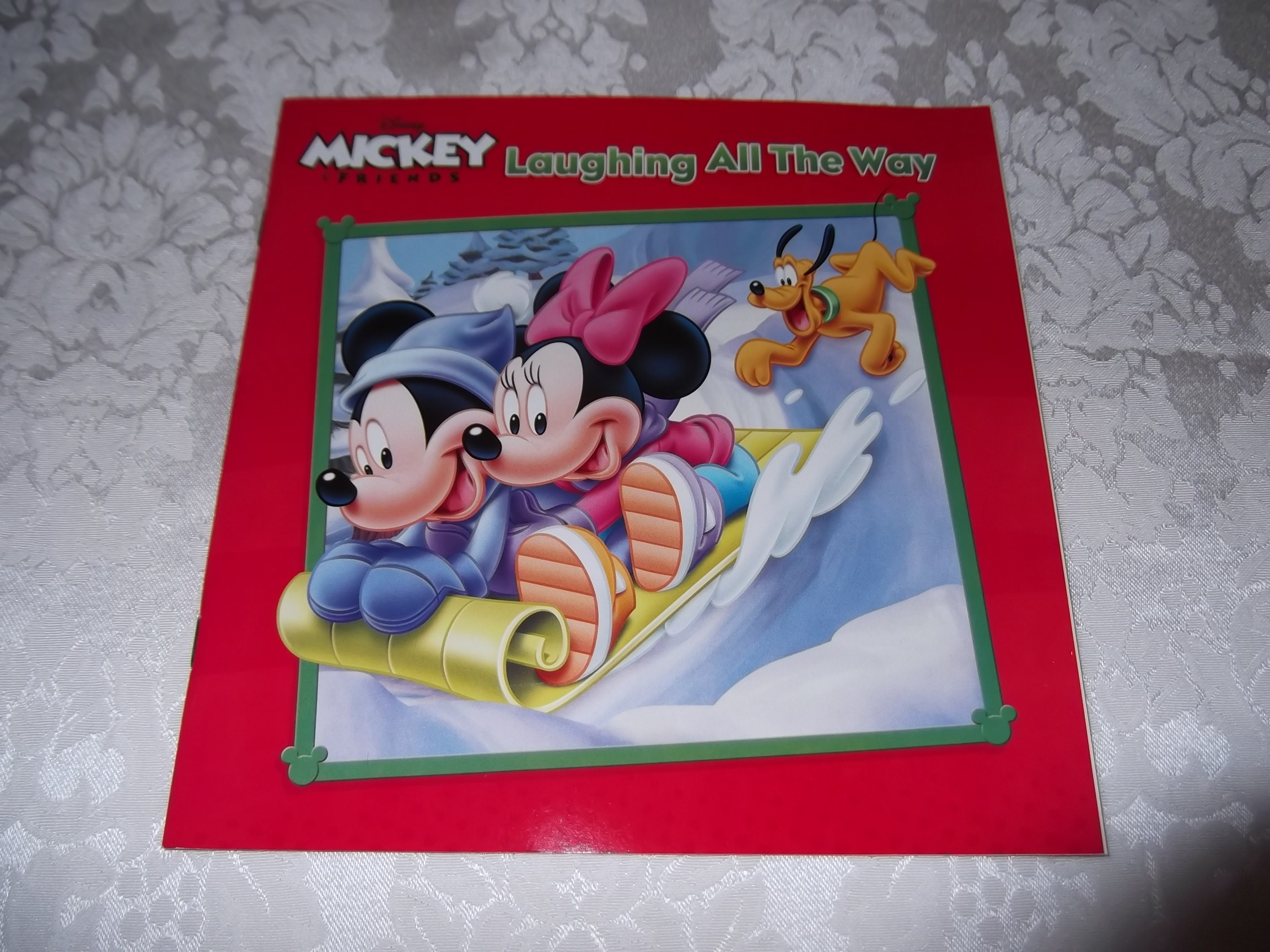 Disney Mickey & Friends Laughing All The Way Brand New Christmas SC