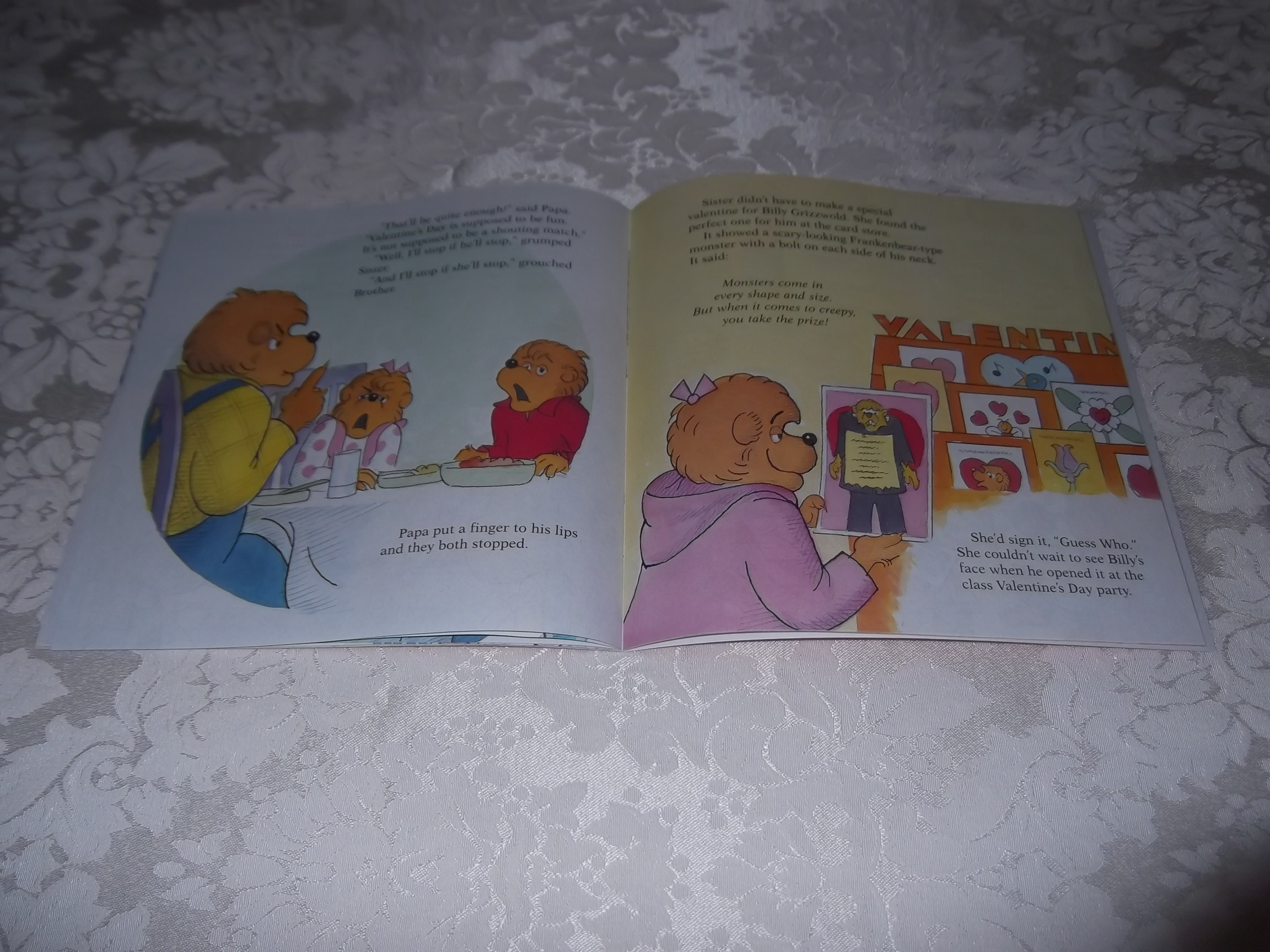 Image 2 of The Berenstain Bears' Funny Valentine Stan & Jan Berenstain Brand New Softcover