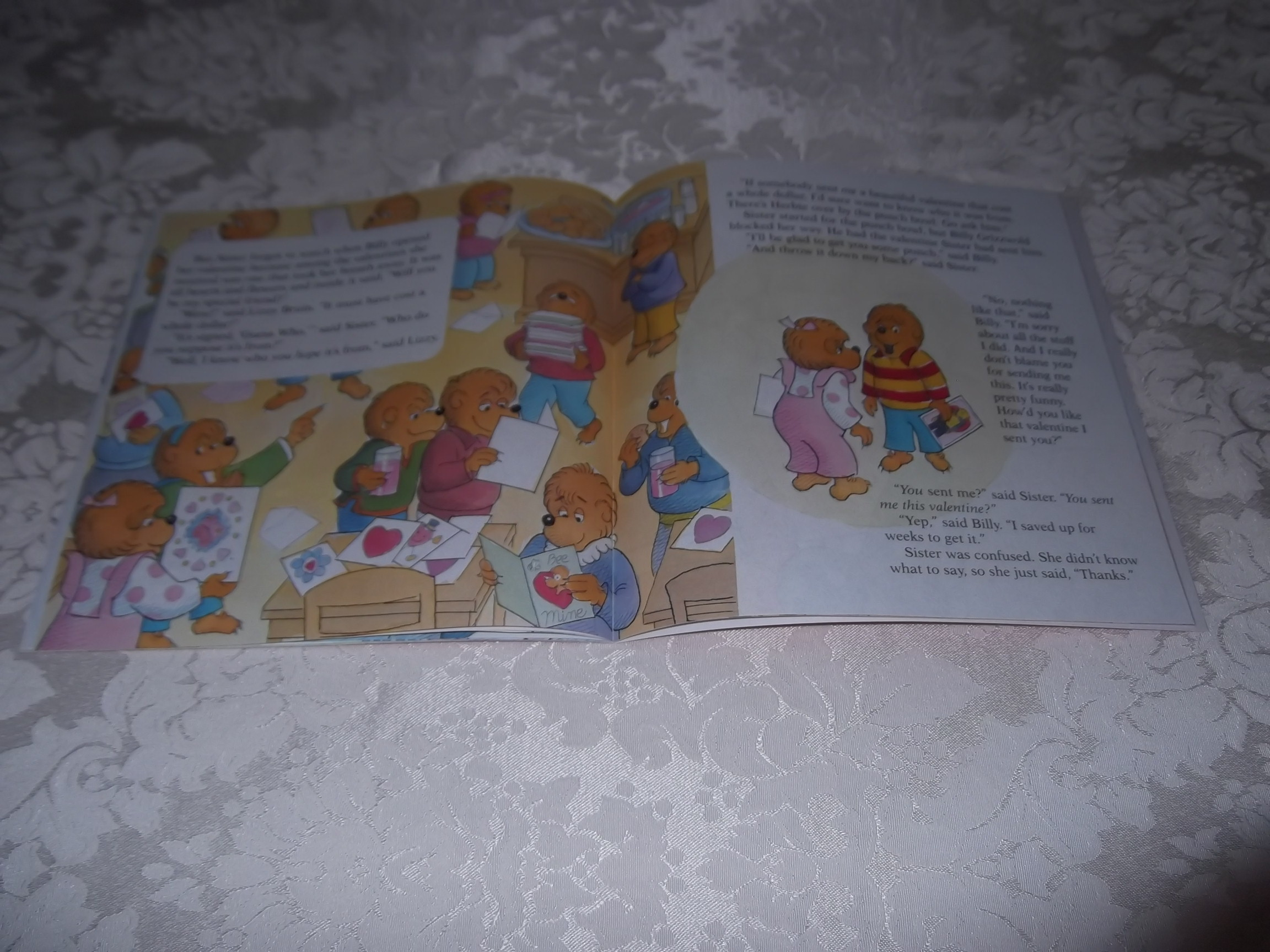 Image 3 of The Berenstain Bears' Funny Valentine Stan & Jan Berenstain Brand New Softcover