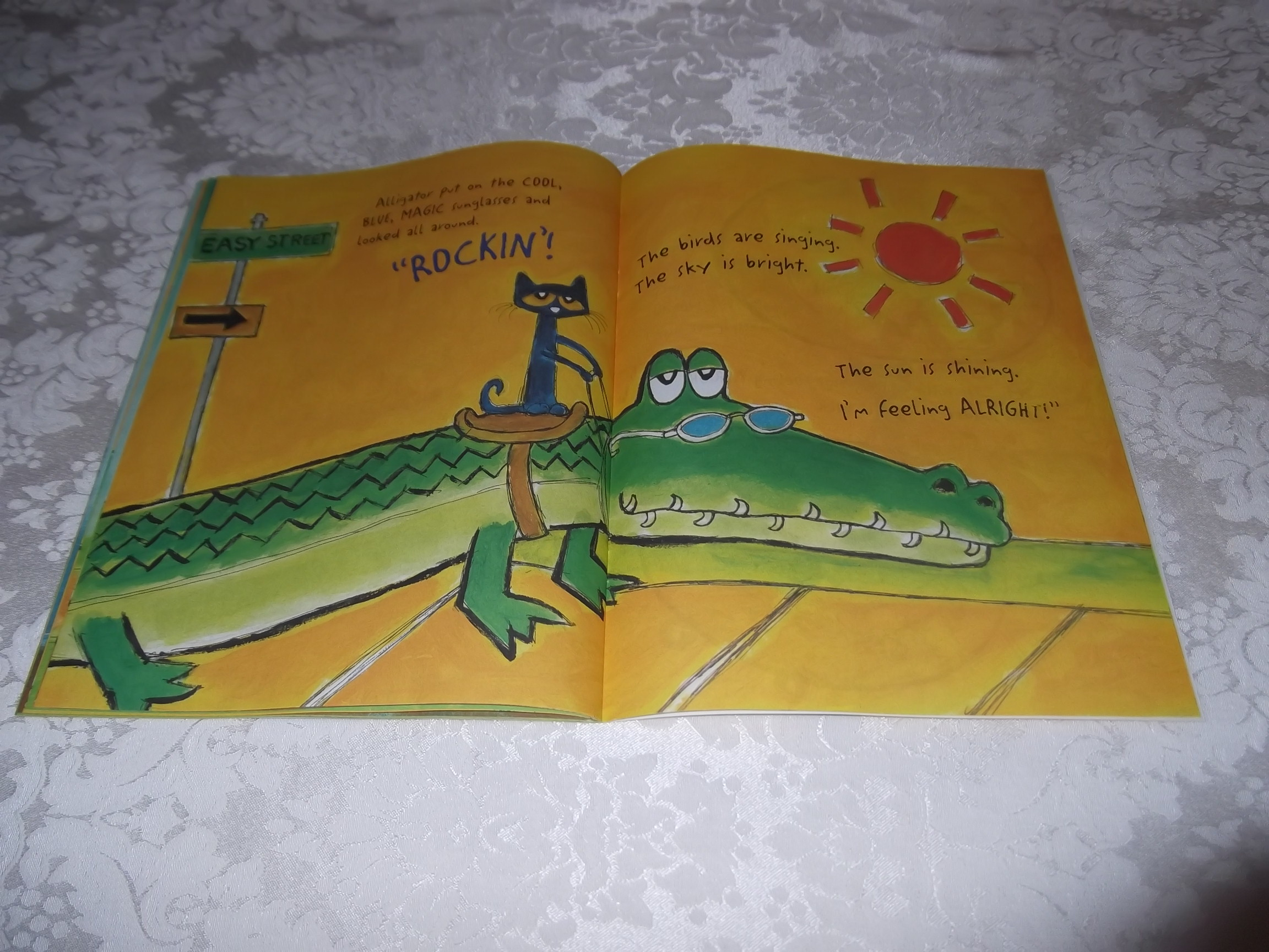 Image 9 of Pete the Cat and His Magic Sunglasses Kimberly and James Dean Brand New SC