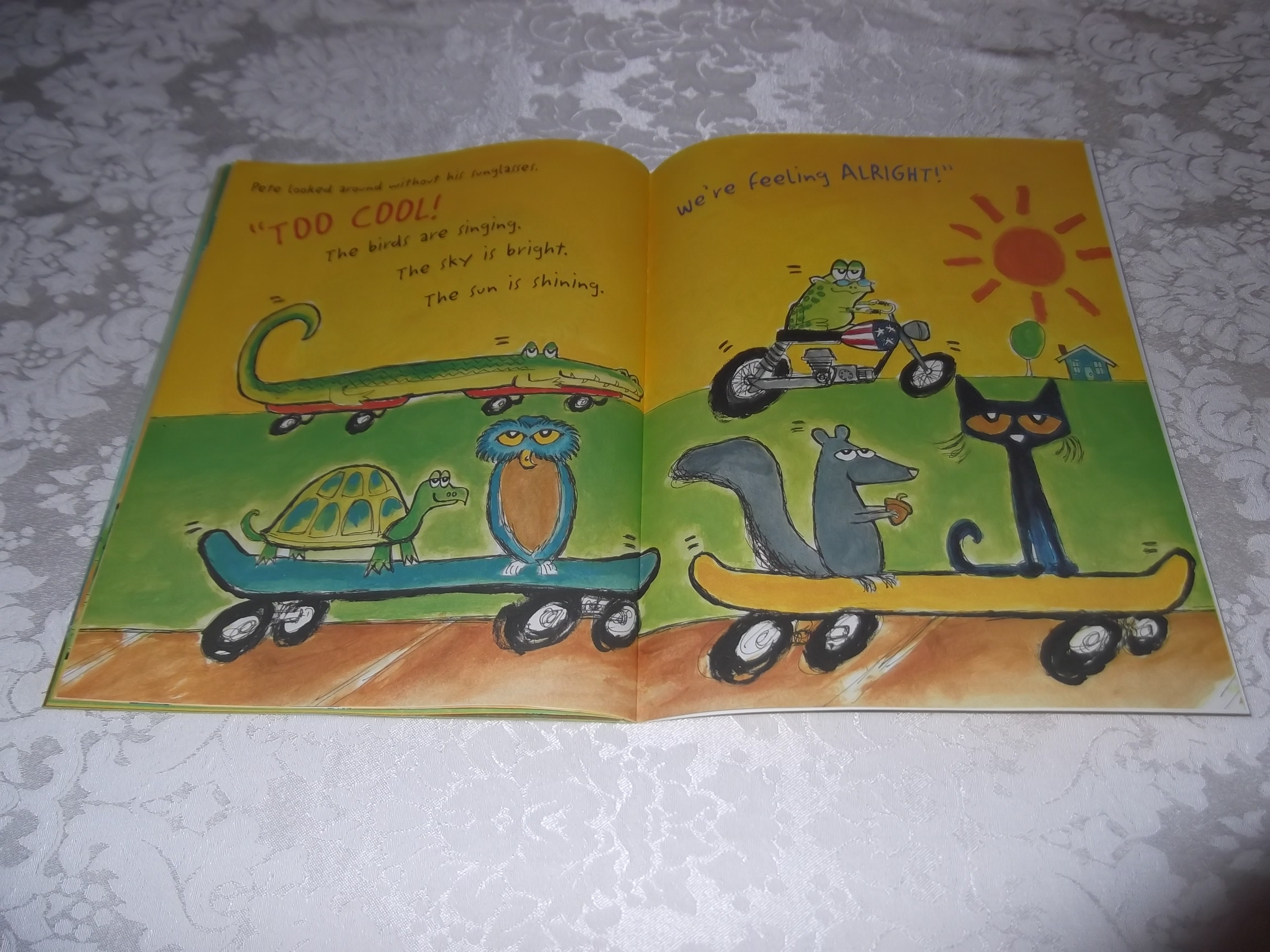 Image 10 of Pete the Cat and His Magic Sunglasses Kimberly and James Dean Brand New SC