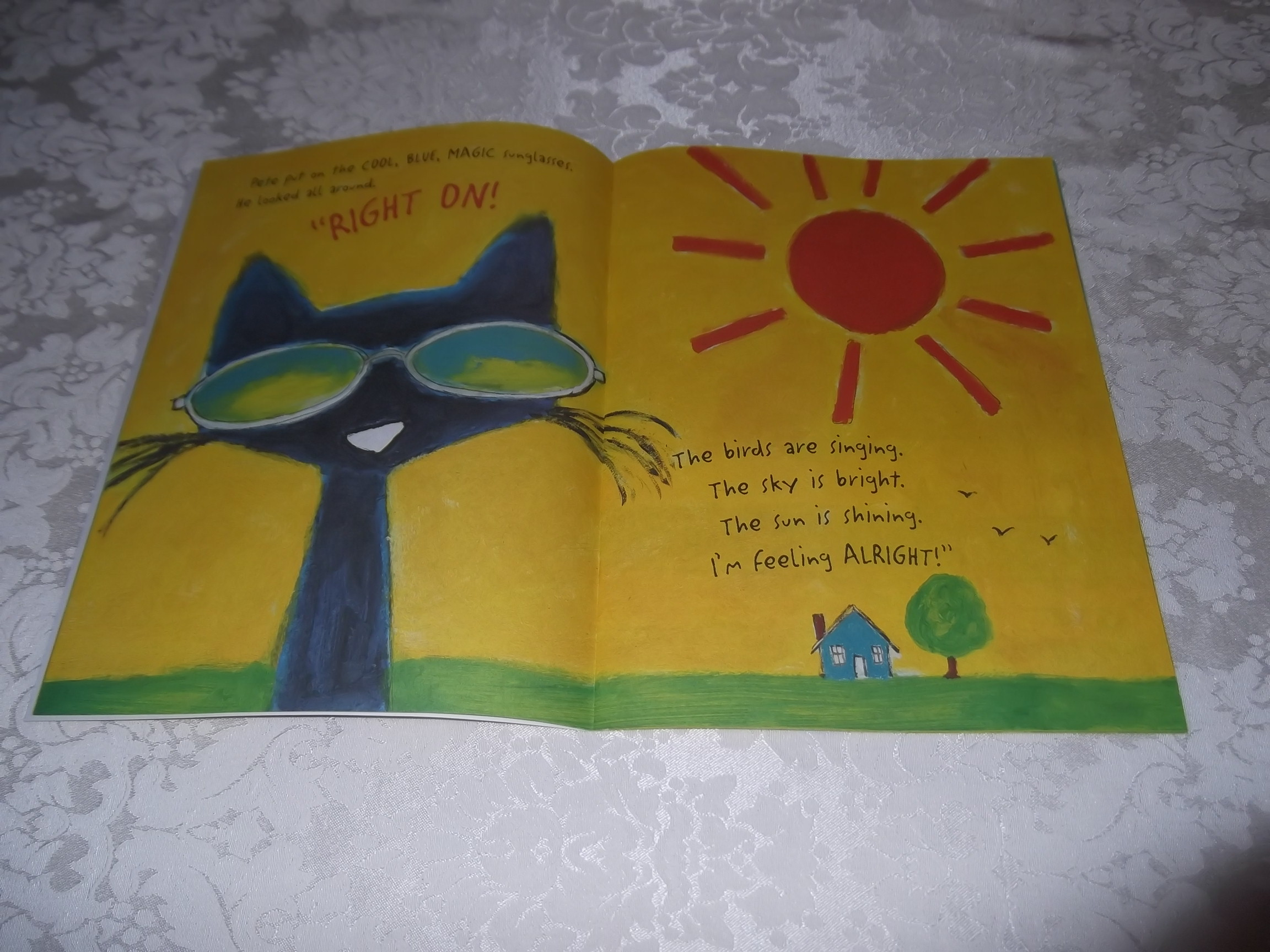 Image 1 of Pete the Cat and His Magic Sunglasses Kimberly and James Dean Brand New SC