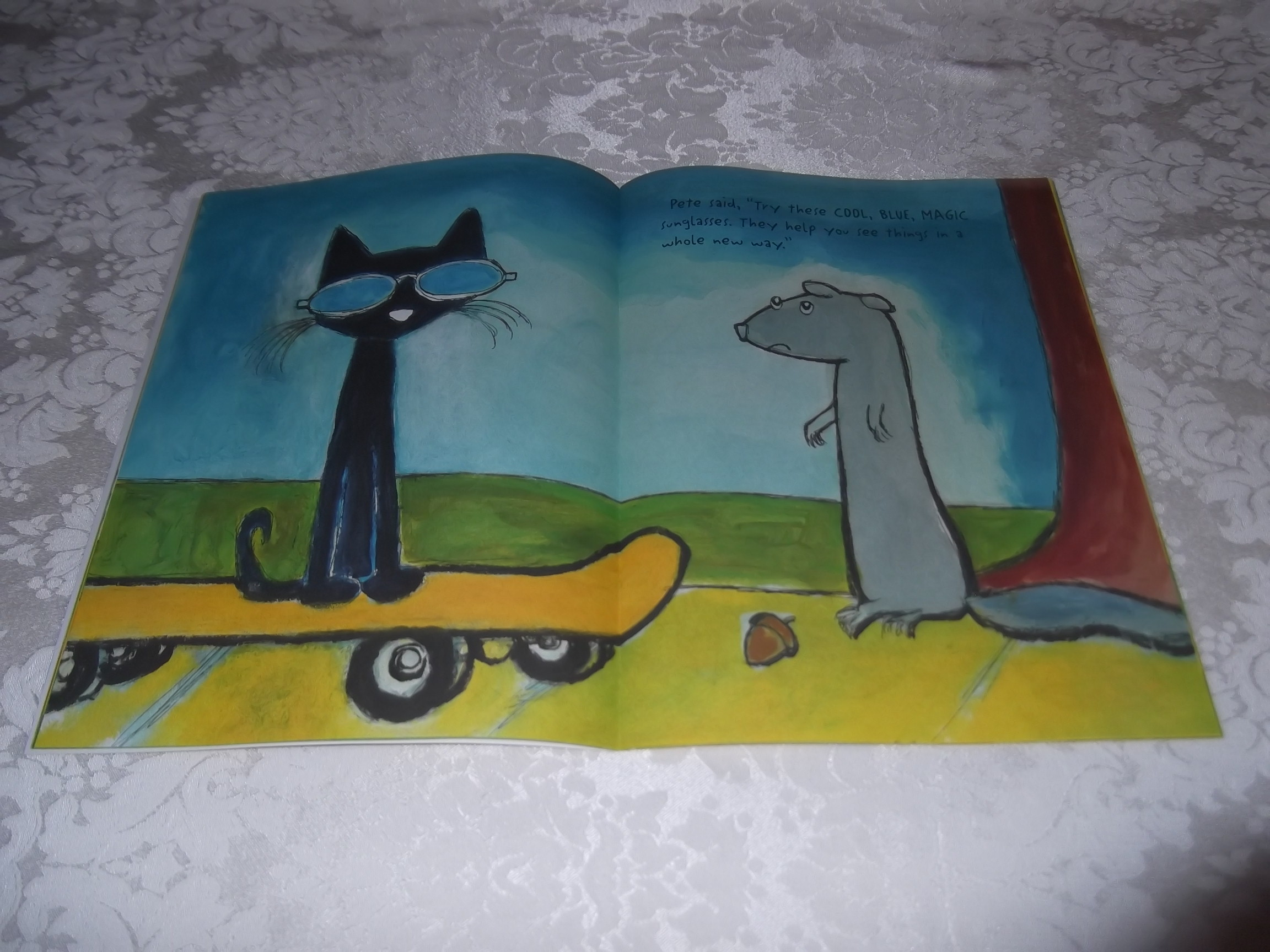 Image 3 of Pete the Cat and His Magic Sunglasses Kimberly and James Dean Brand New SC