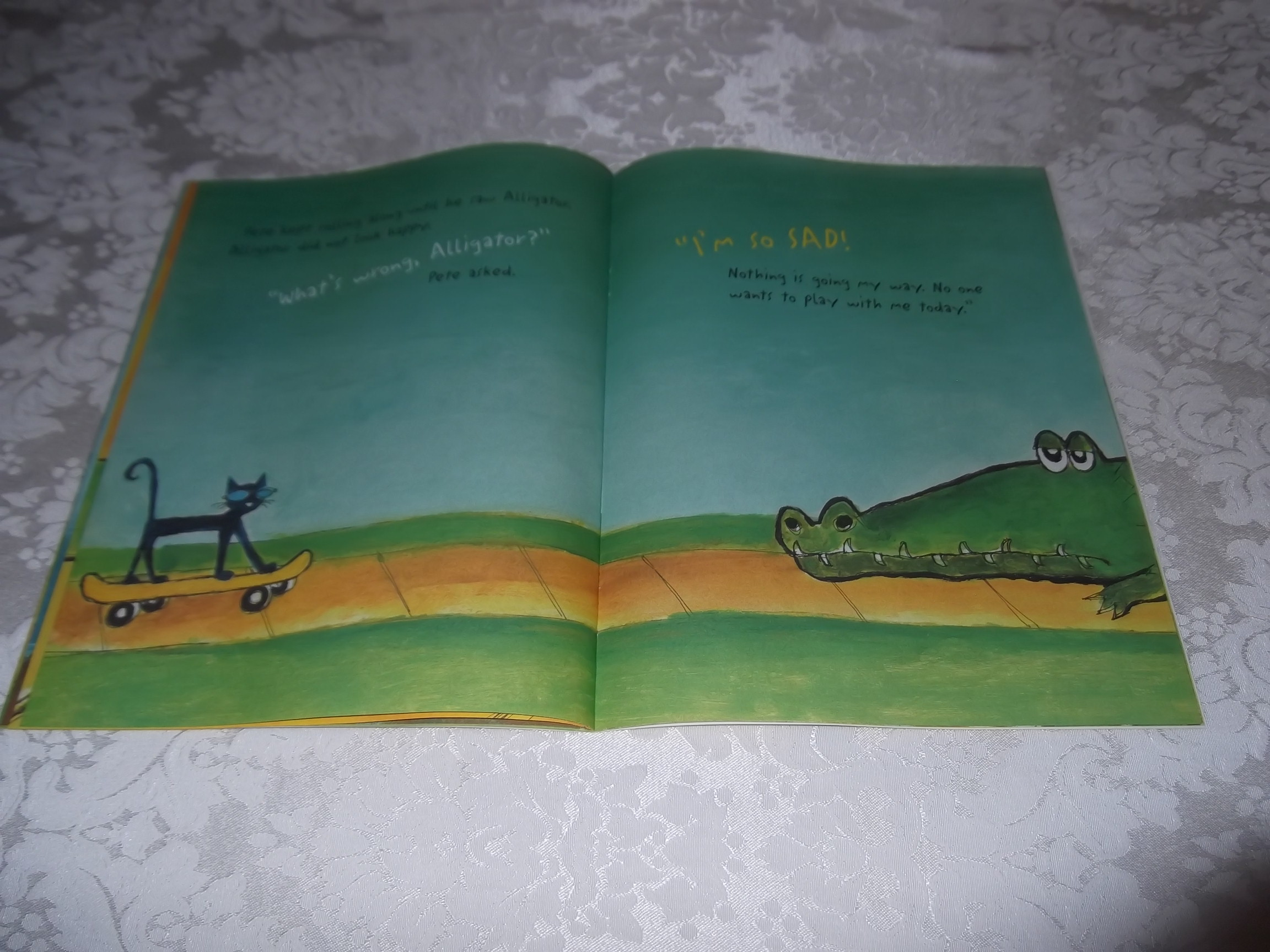 Image 7 of Pete the Cat and His Magic Sunglasses Kimberly and James Dean Brand New SC