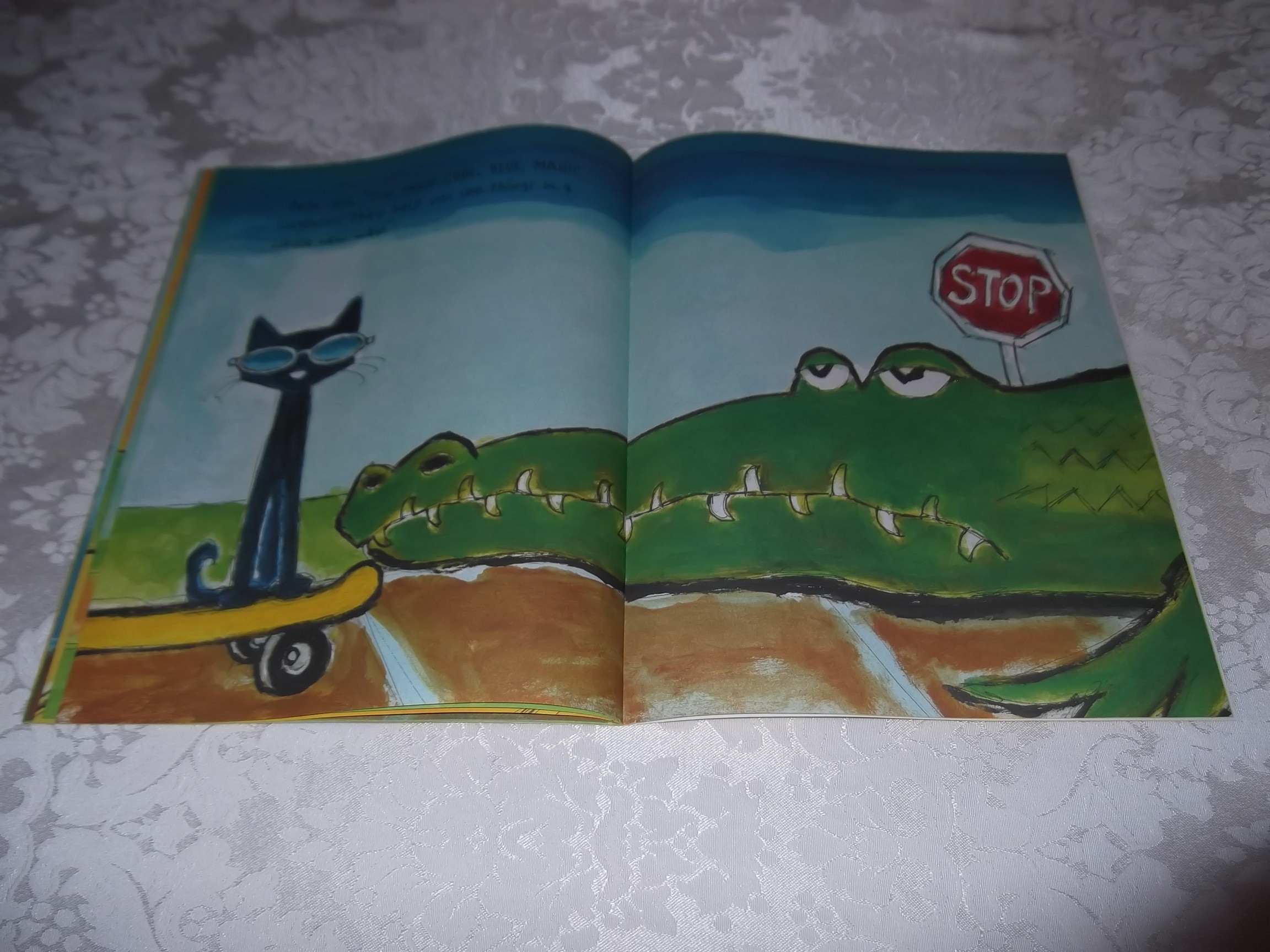 Image 8 of Pete the Cat and His Magic Sunglasses Kimberly and James Dean Brand New SC