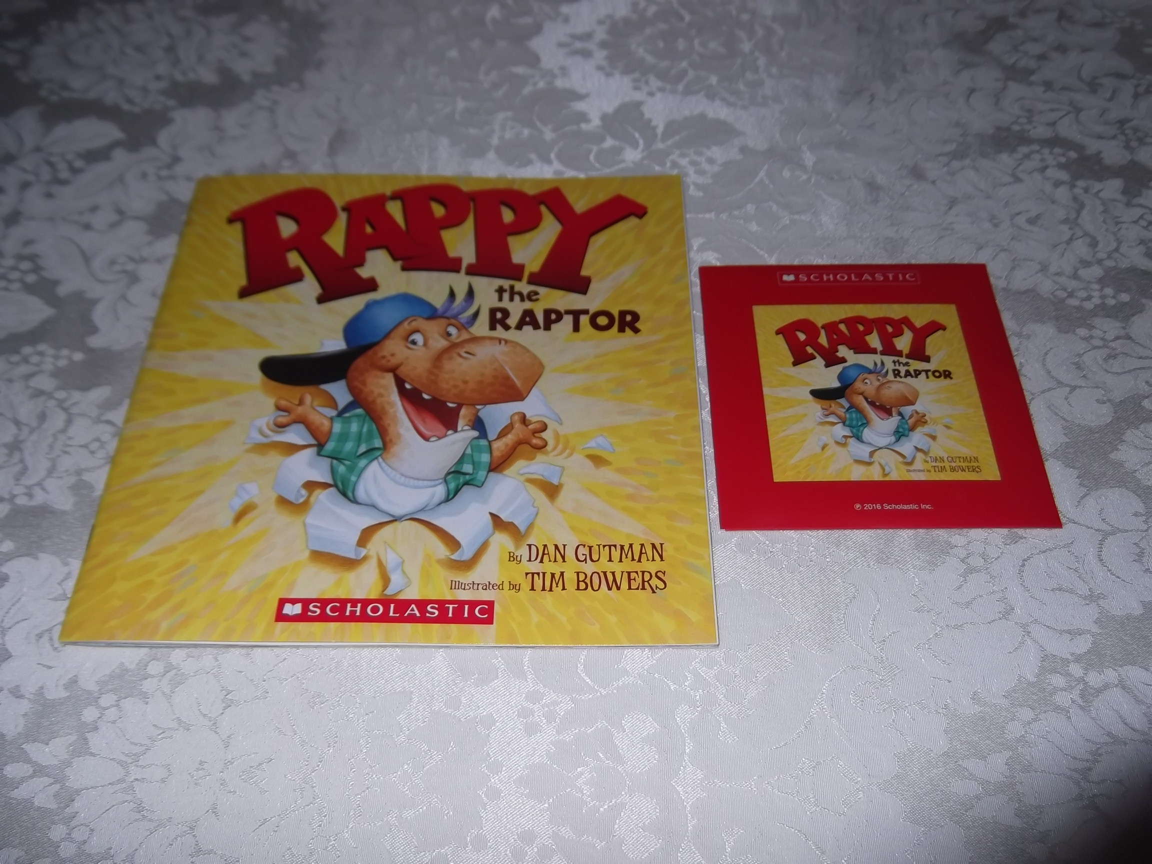 Rappy the Raptor Dan Gutman Audio CD & SC Brand New