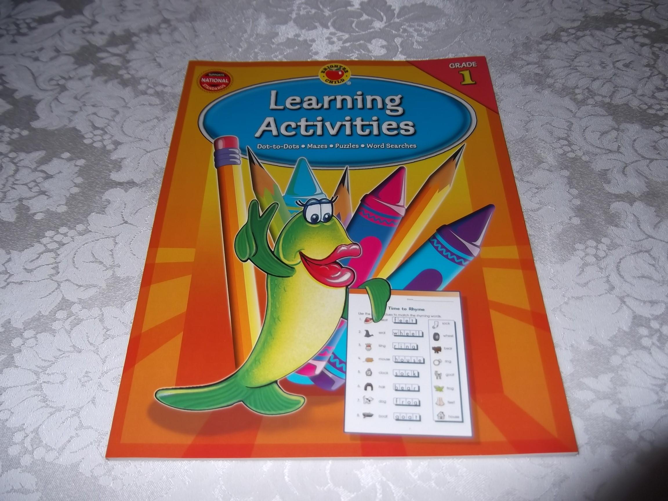 Learning Activities Grade 1 Brighter Child Carson Dellosa Brand New