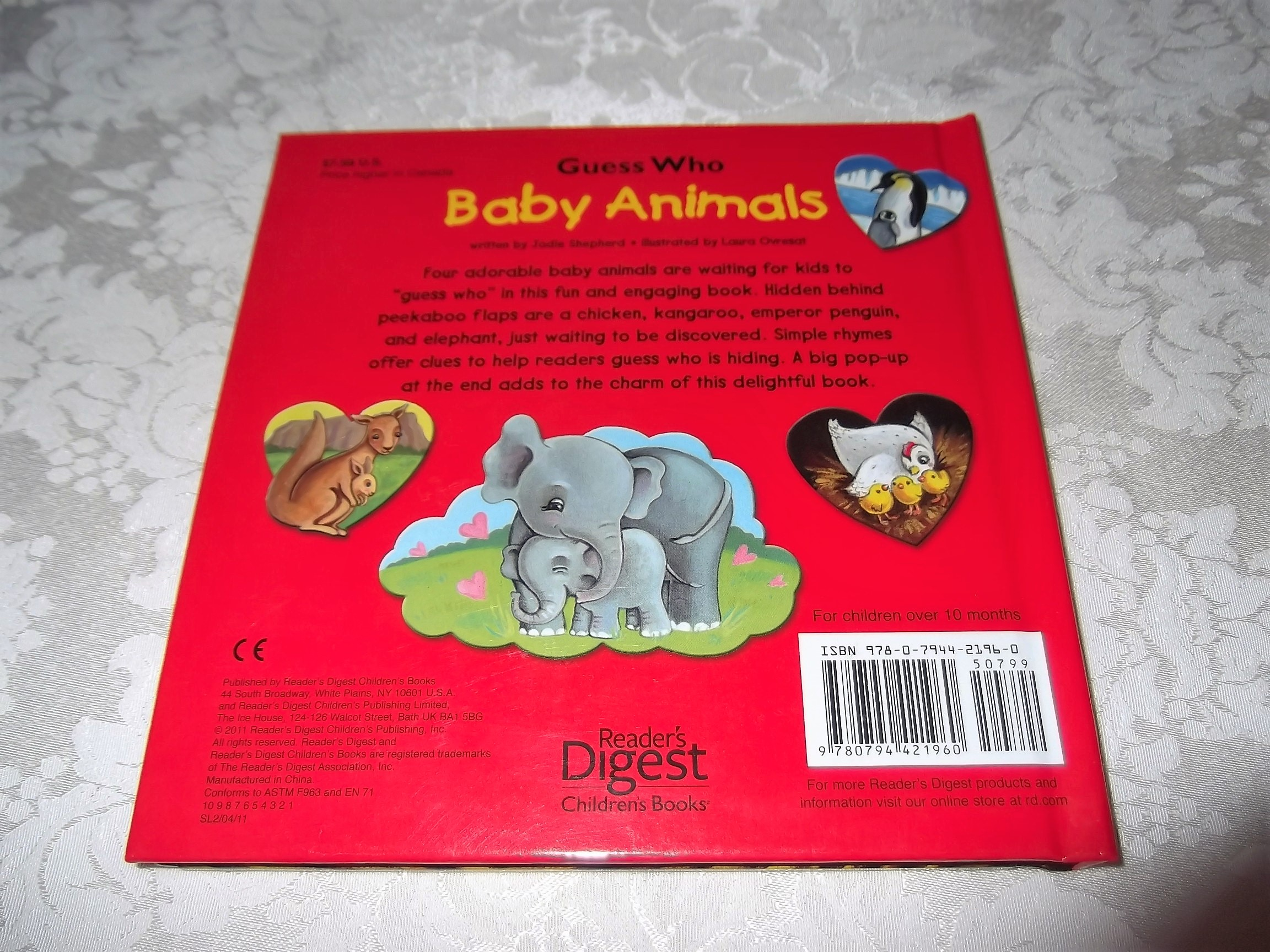 Image 10 of Guess Who Baby Animals Jodie Shepherd Brand New Lift A Flap HC