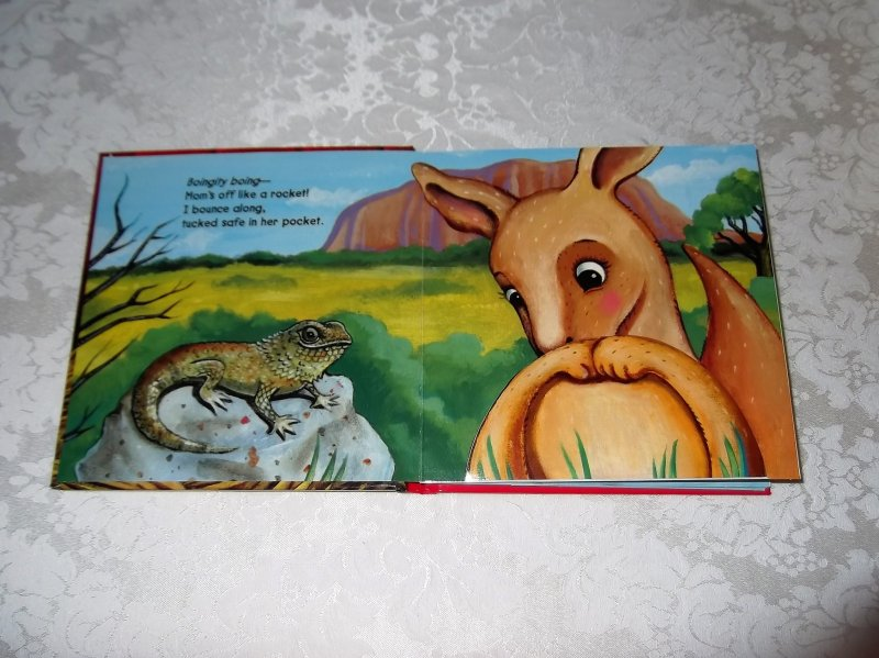 Image 1 of Guess Who Baby Animals Jodie Shepherd Brand New Lift A Flap HC