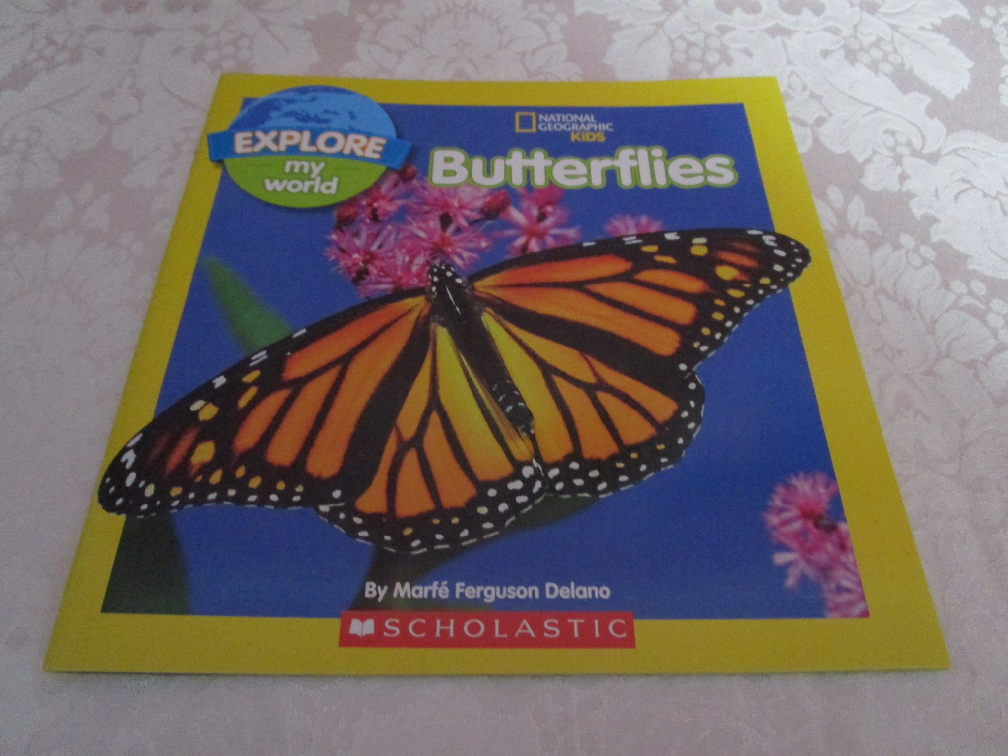 Butterflies Marfe Ferguson Delano National Geographic Kids Explore My World NEW