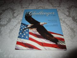 Challenger America's Favorite Eagle Margot Theis Raven Very Good HC with DJ