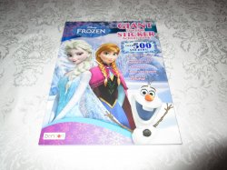 Disney FROZEN Giant Learning Sticker Activity Book 500+ Stickers Brand New