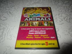 Alphabet Animals DVD 90 Minutes Brand New and Sealed