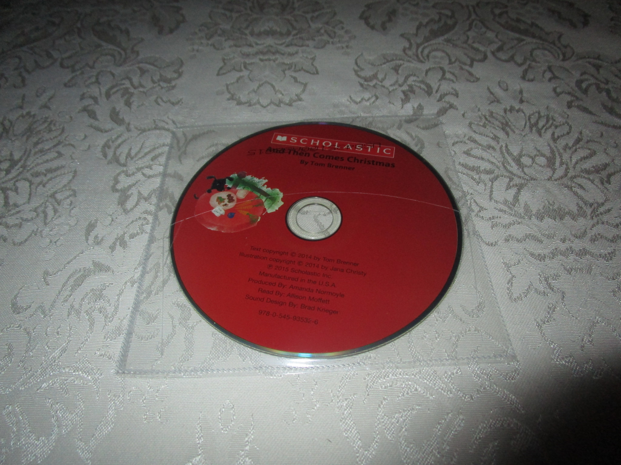 And Then Comes Christmas Tom Brenner Audio CD ONLY Brand New