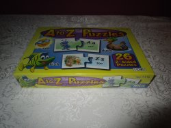 A to Z Puzzles Match Ups PATCH Brand New and Sealed