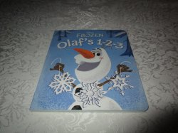 Disney FROZEN Olaf's 1-2-3 Touch and Feel 1-10 Counting Board Book