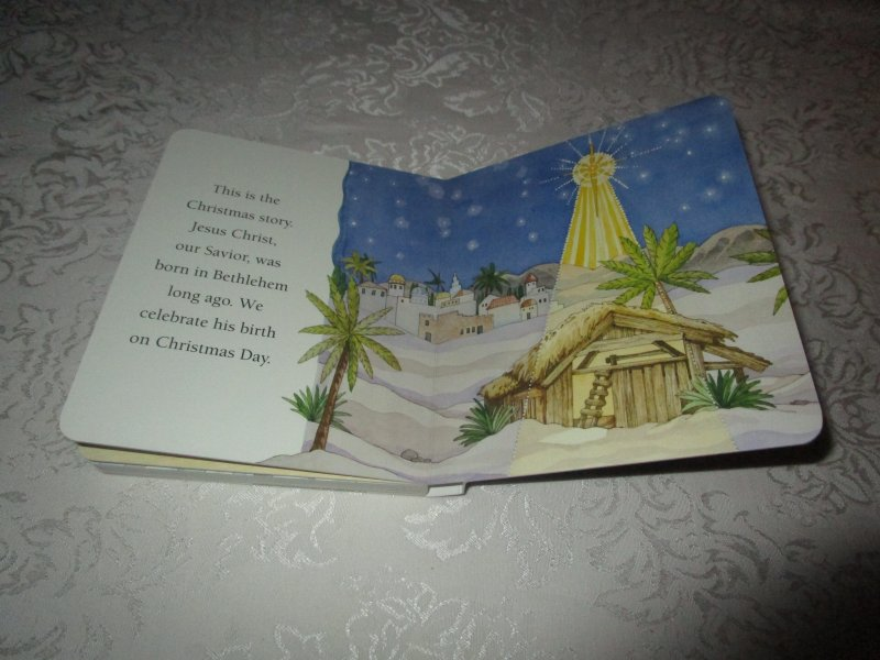 Image 10 of The Christmas Story Patricia A. Pingry Brand New Board Book