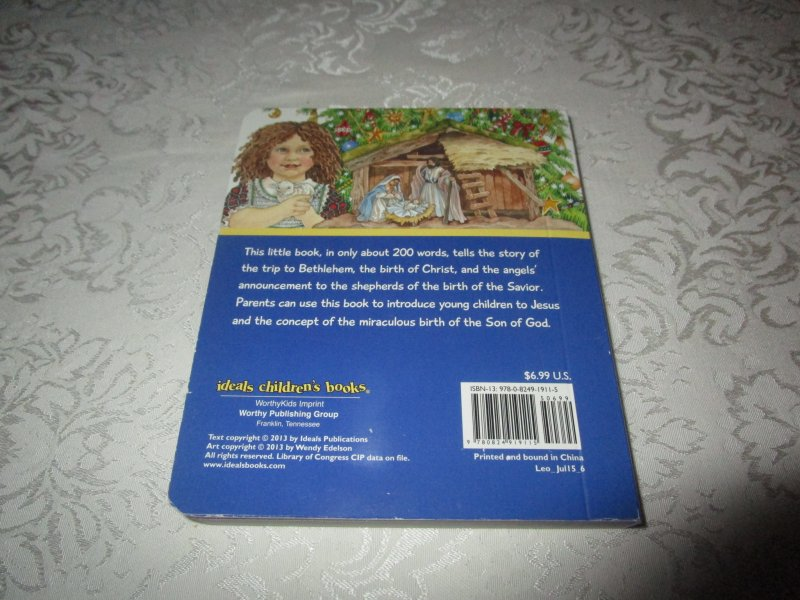 Image 11 of The Christmas Story Patricia A. Pingry Brand New Board Book
