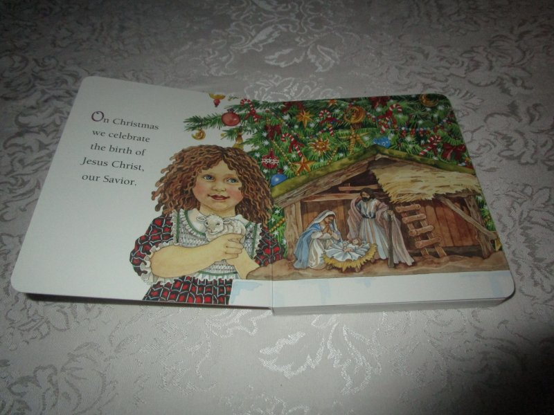 Image 1 of The Christmas Story Patricia A. Pingry Brand New Board Book