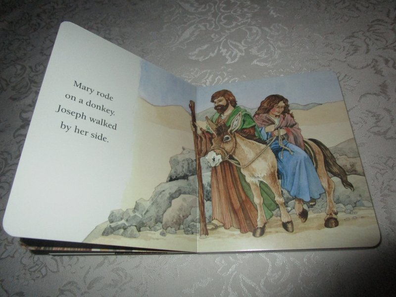 Image 2 of The Christmas Story Patricia A. Pingry Brand New Board Book