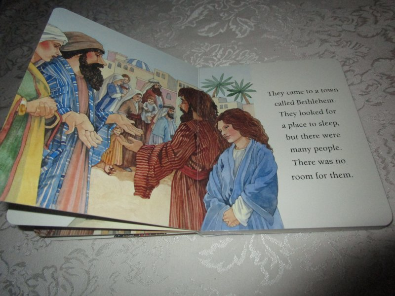 Image 3 of The Christmas Story Patricia A. Pingry Brand New Board Book