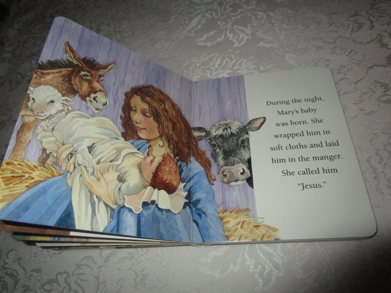 Image 5 of The Christmas Story Patricia A. Pingry Brand New Board Book
