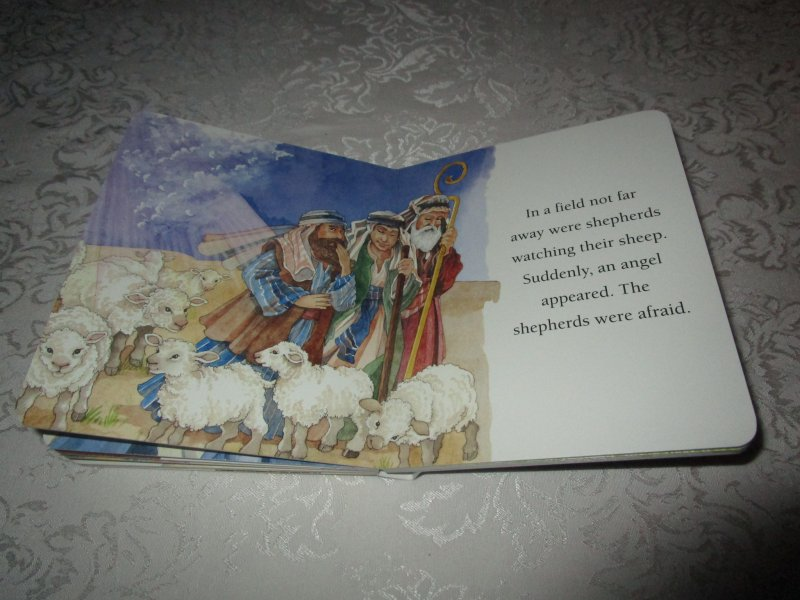 Image 6 of The Christmas Story Patricia A. Pingry Brand New Board Book