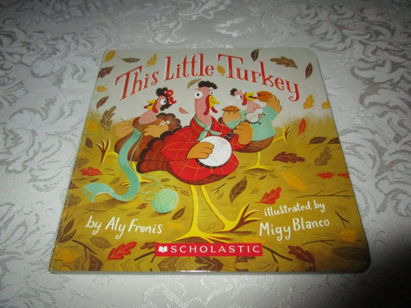 by Aly Fronis; illustrated by Migy Blanco (Brand New Scholastic Board Book)