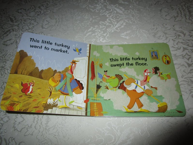 Image 1 of This Little Turkey Aly Fronis Brand New Board Book