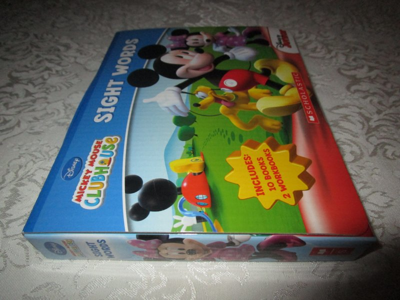 Image 2 of Disney Mickey Mouse Clubhouse Sight Words Readers Boxed Set 10 Books 2 Workbooks