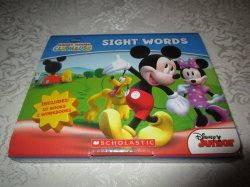 Disney Mickey Mouse Clubhouse Sight Words Readers Boxed Set 10 Books 2 Workbooks