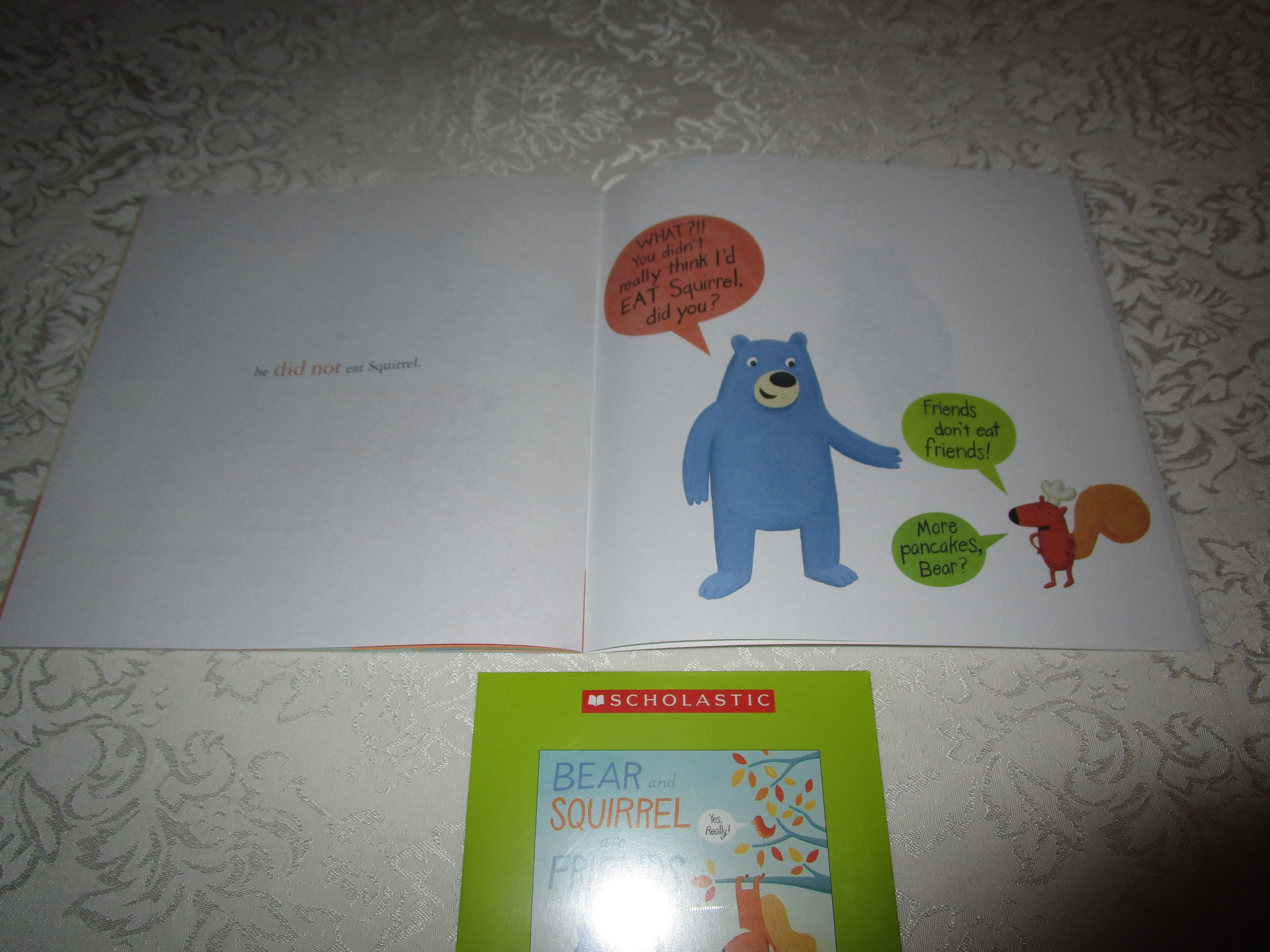 Image 3 of Bear And Squirrel Are Friends Deb Pilutti Audio CD & SC Brand New