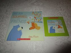 Bear And Squirrel Are Friends Deb Pilutti Audio CD & SC Brand New