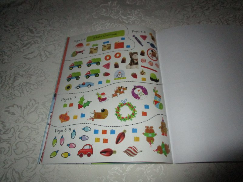Image 3 of Winter Wishes Christmas Sticker Activity Book 300+ Stickers Brand New
