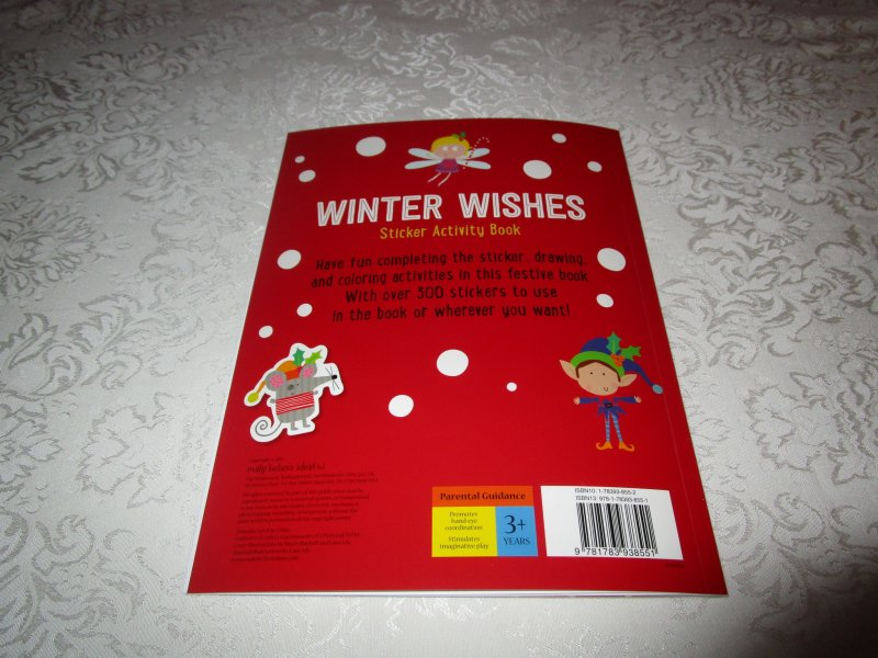 Image 6 of Winter Wishes Christmas Sticker Activity Book 300+ Stickers Brand New