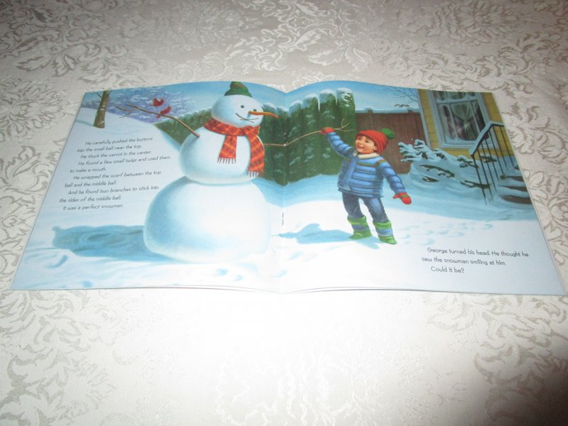 Image 2 of Snowman Magic Katherine Tegen Brand New Softcover
