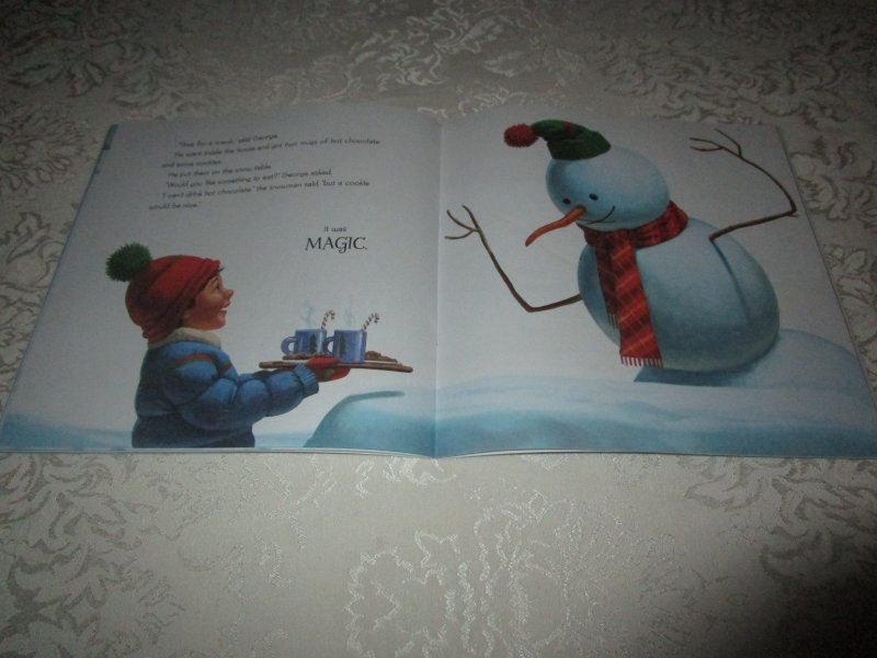 Image 3 of Snowman Magic Katherine Tegen Brand New Softcover