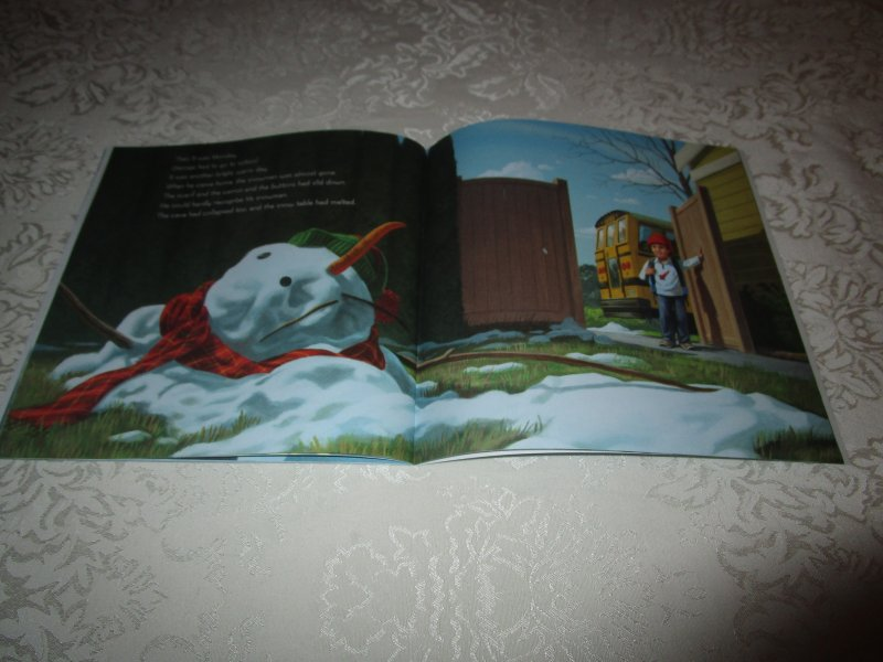 Image 4 of Snowman Magic Katherine Tegen Brand New Softcover