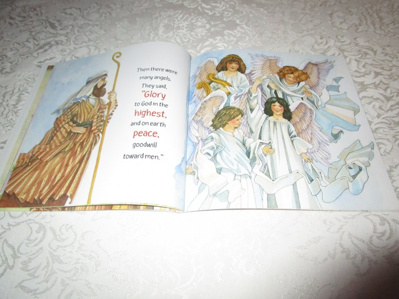 Image 9 of The Christmas Story Patricia A. Pingry Brand New Softcover