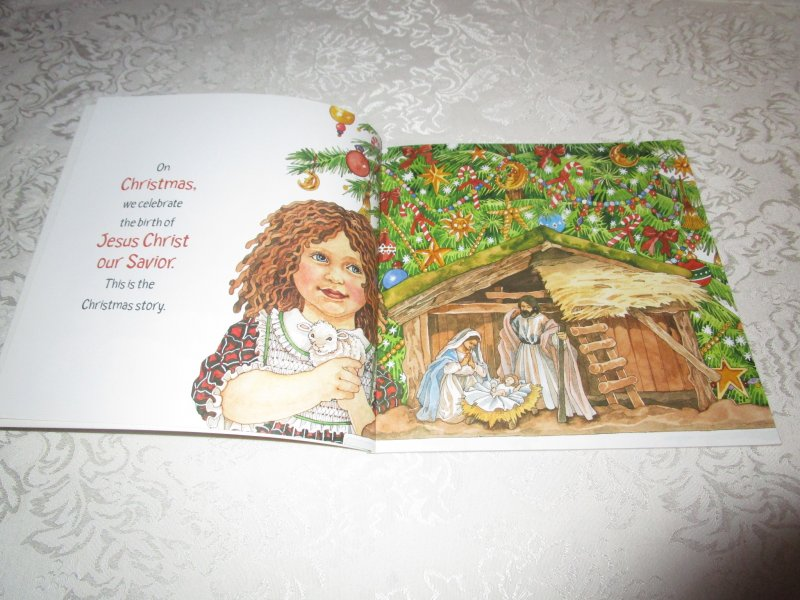 Image 1 of The Christmas Story Patricia A. Pingry Brand New Softcover